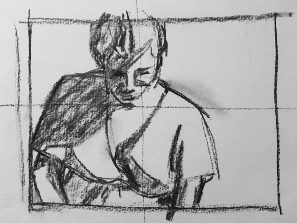 2018/19 Figürliches Skizzieren, Zeichnen und Malen im Atelier Neumarkt bei Serge Pinkus