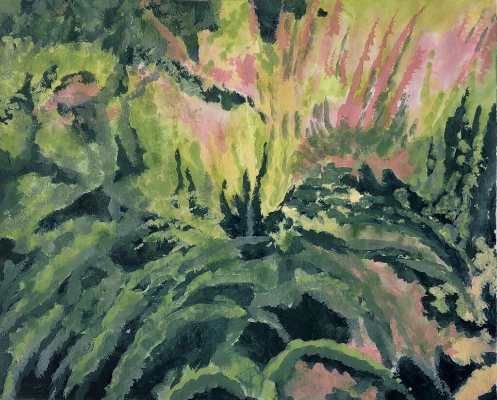Gärten, Acryl