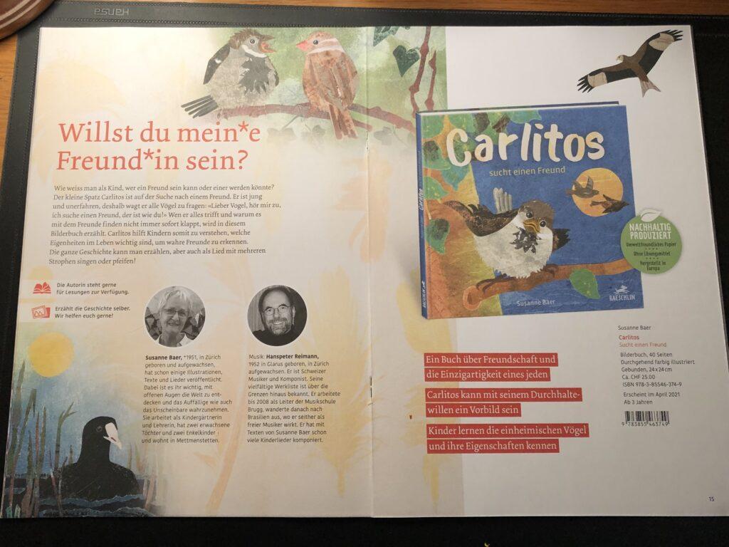 """Bilderbuch """"Carlitos sucht einen Freund"""""""