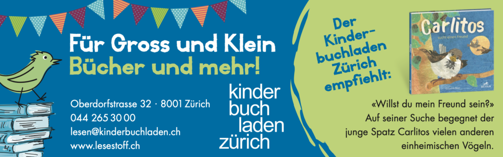 Kinderbuchladen Zürich empfiehlt Carlitos sucht einen Freund
