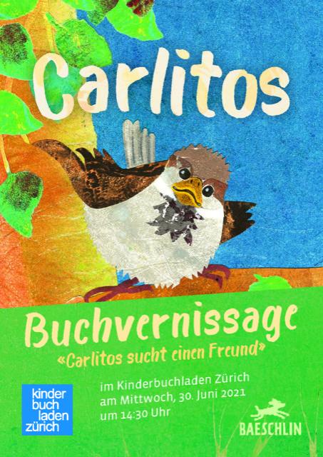 Carlitos sucht einen Freund Buchvernissage